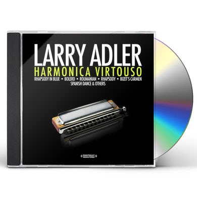 Larry Adler HARMONICA VIRTUOSO CD
