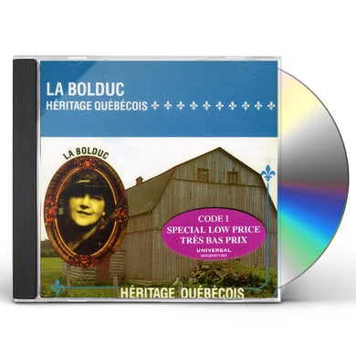 La Bolduc HERITAGE QUEBECOIS CD