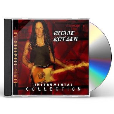 Richie Kotzen INSTRUMENTAL COLLECTION THE SHRAPNEL YEARS CD