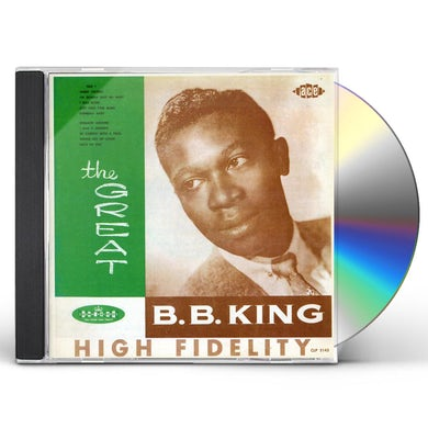 GREAT B.B. KING CD