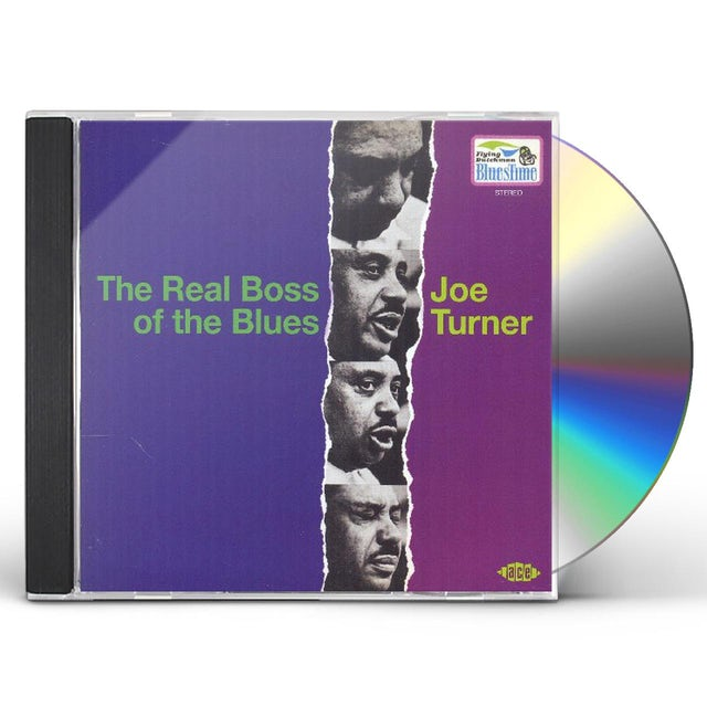 Joe Turner REAL BOSS OF THE BLUES CD