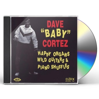 Dave Baby Cortez HAPPY ORGANS WILD GUITAR CD