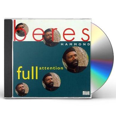 Beres Hammond FULL ATTENTION CD