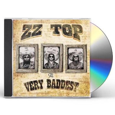 ZZ Top VERY BADDEST CD