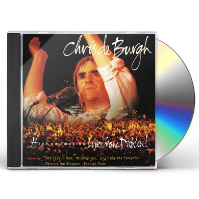 Chris De Burgh HIGH ON EMOTION - LIVE FROM DUBLIN CD