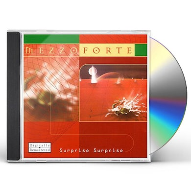 Mezzoforte SURPRISE SURPRISE CD