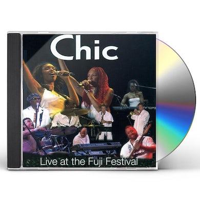 Chic LIVE AT FUJI FESTIVAL CD
