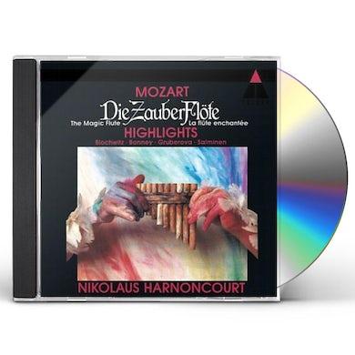 Thomas Hampson MOZART: DIE ZAUBERFLTE (HIGHLIGHTS) CD