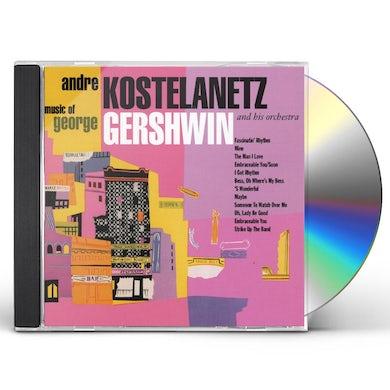 Andre Kostelanetz MUSIC OF GEORGE GERSHWIN CD