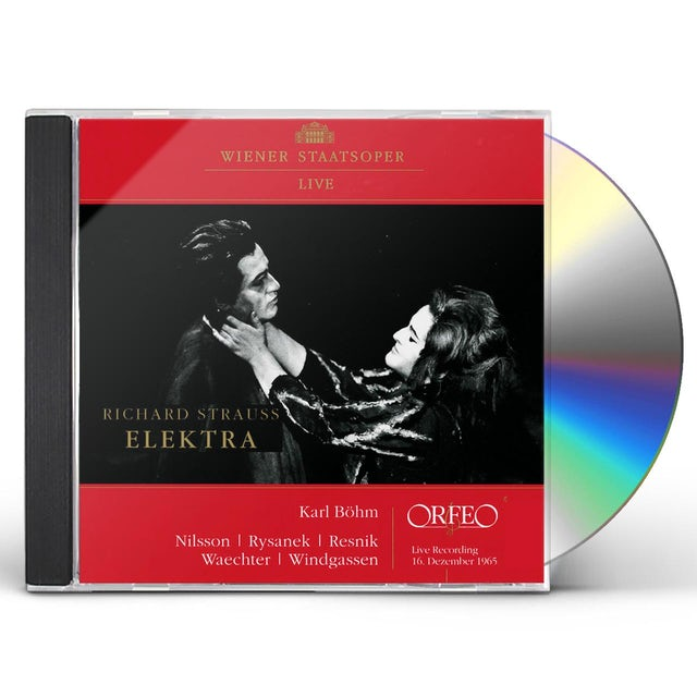 Strauss ELEKTRA CD