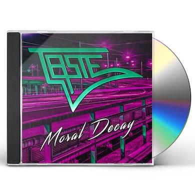 Taste MORAL DECAY CD