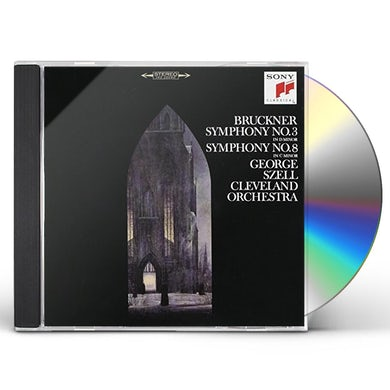 BRUCKNER: SYMPHONIES 3 & 8 CD