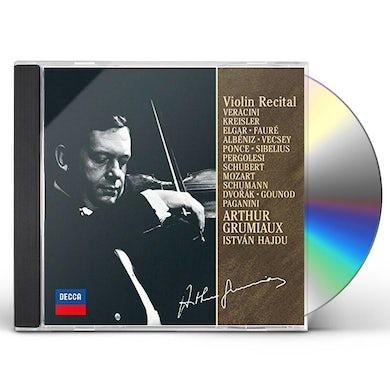 Arthur Grumiaux APRES UN REVE: VIOLIN RECITAL 3 CD