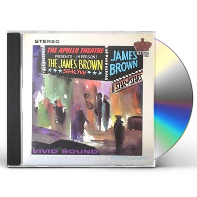 James Brown LIVE' AT THE APOLLO: LIMITED CD