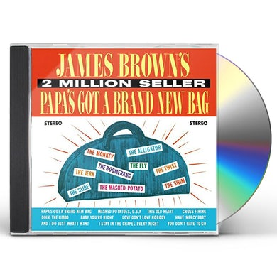 James Brown PAPA'S GOT A BRAND NEW BAG: LIMITED CD