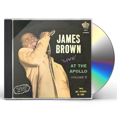 James Brown LIVE AT THE APOLLO VOL. 2: LIMITED CD