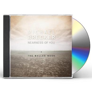 Michael Brecker NEARNESS OF YOU: BALLAD BOOK CD