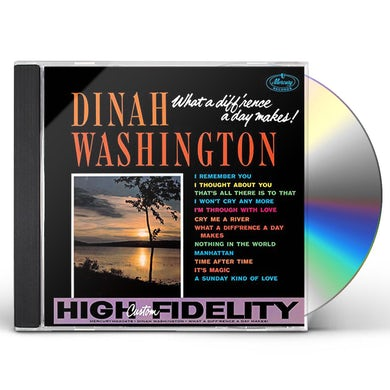 Dinah Washington WHAT A DIFF RENCE A DAY MAKES CD