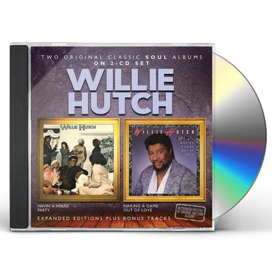 Willie Hutch HAVIN A HOUSE PARTY / MAKING A GAME OUT OF LOVE CD