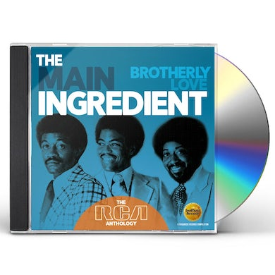 Main Ingredient BROTHERLY LOVE: RCA ANTHOLOGY CD