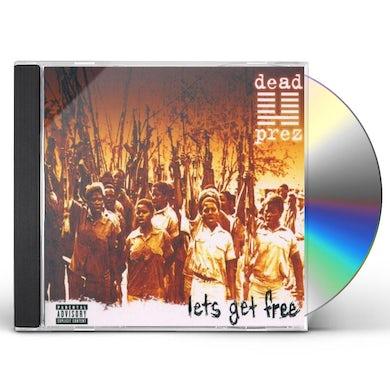 Dead Prez LET'S GET FREE CD