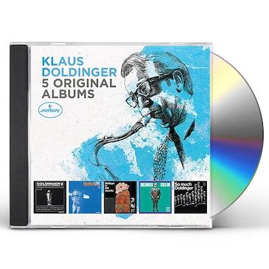 Klaus Doldinger 5 ORIGINAL ALBUMS CD