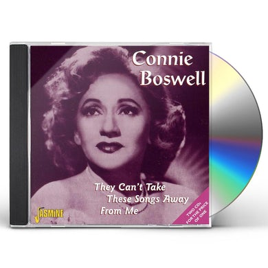 Connie Boswell THEY CAN'T TAKE THESE SONGS CD