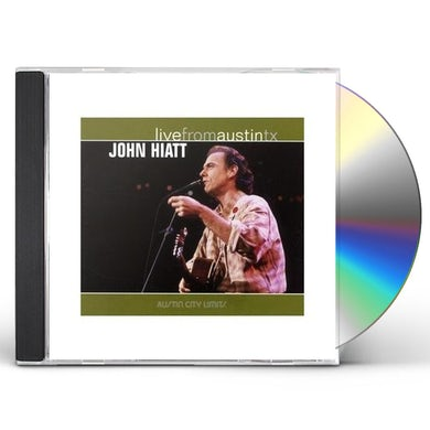 John Hiatt LIVE FROM AUSTIN TX CD