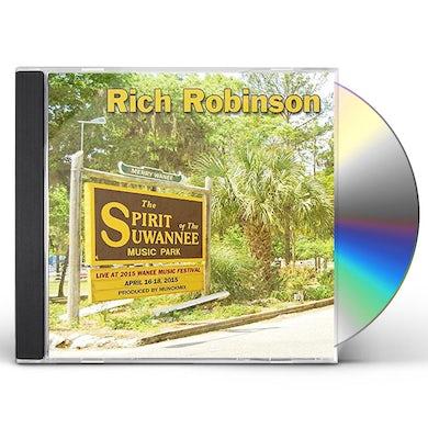 Rich Robinson   LIVE AT WANEE 2015 CD