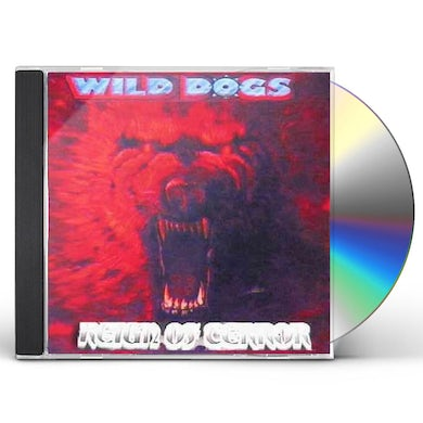 Wild Dogs REIGN OF TERROR NEW PACKAGE 8 PAGE BOOKLET CD