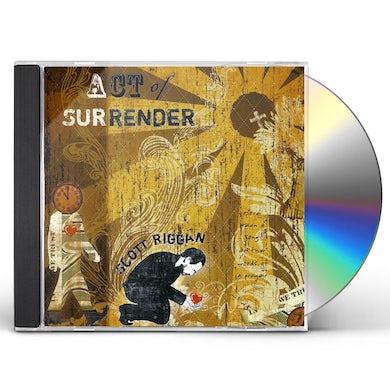 Scott Riggan ACT OF SURRENDER EP CD