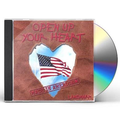 Landmark OPEN UP YOUR HEART CD