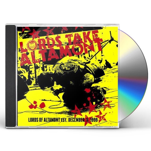 Lords Of Altamont LORDS TAKE ALTAMONT CD