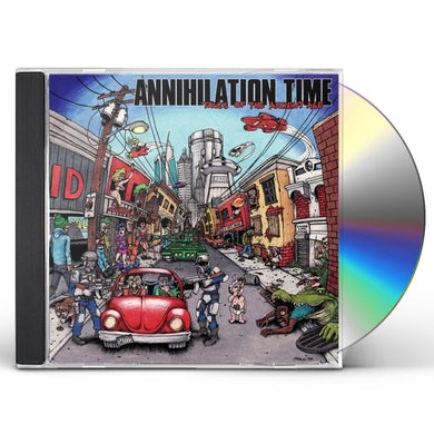 Annihilation Time TALES OF THE ANCIENT AGE CD