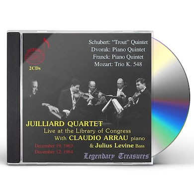 Juilliard String Quartet LIVE AT THE LIBRARY OF CONGRESS 1 CD