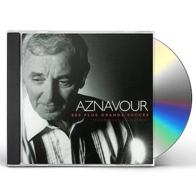 Charles Aznavour PLUS GRANDS SUCCES (POUR VOUS AU QUEBEC) CD