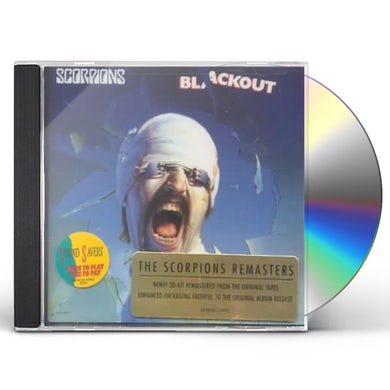 Scorpions BLACKOUT CD