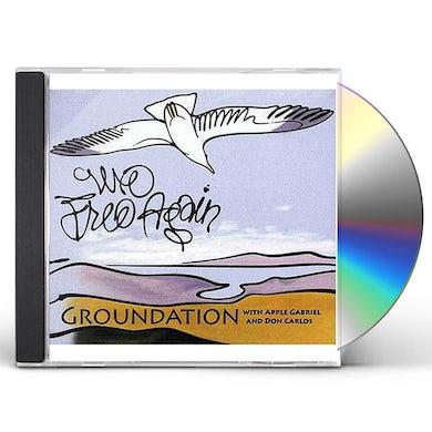 Groundation WE FREE AGAIN CD