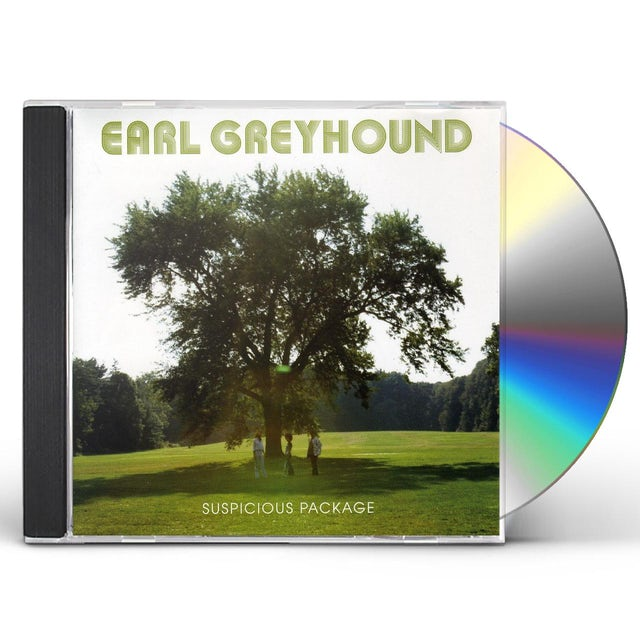 Earl Greyhound SUSPICIOUS PACKAGE CD