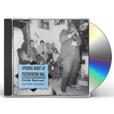 Emile Barnes OPENING NIGHT CD