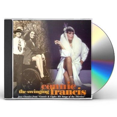 SWINGING CONNIE FRANCIS CD