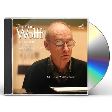 Christian Wolff INCIDENTAL MUSIC & KEYBOARD MISCELLANY CD