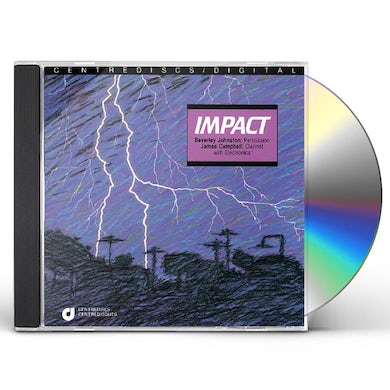 Beverly Johnston IMPACT: PERCUSSION WORKS CD