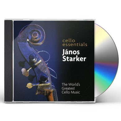 Janos Starker CELLO ESSENTIALS CD
