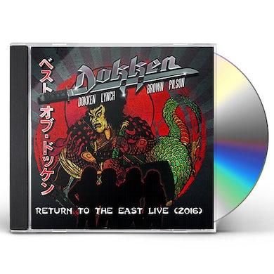 Dokken RETURN TO THE EAST LIVE 2016 CD