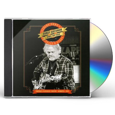 Randy Bachman EVERY SONG TELLS A STORY CD