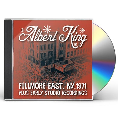 Albert King LIVE AT THE FILLMORE PLUS EARLY STUDIO RECORDINGS CD