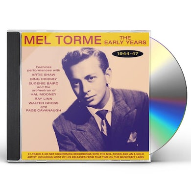 Mel Torme Early Years 1944-47 CD