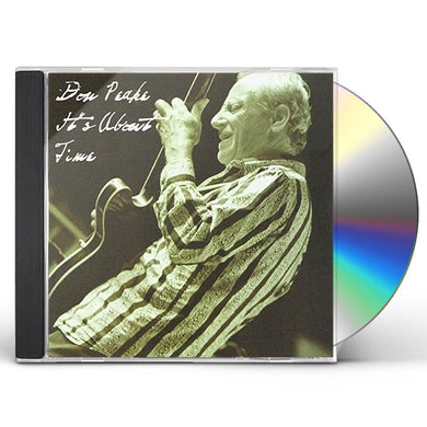 Don Peake IT'S ABOUT TIME CD
