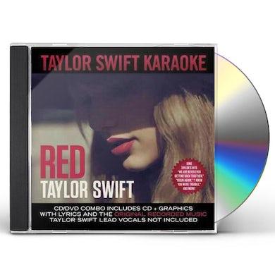 Taylor Swift Red Karaoke (CD+G/DVD) CD